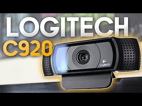 A WEBCAM DOS YOUTUBERS - Logitech C920 - Full HD (1080p) - UNBOXING & REVIEW