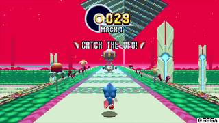 Sonic Mania Plus - Gren Hill Zone All Giant Rings Locations