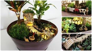 Fairy Garden #8 * DIY * Minigarten Im Topf
