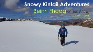 Snowy Kintail Adventure, March 2018 | On The Adventure Trails - Scotland