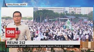 Live streaming 24 jam: https://www.cnnindonesia.com/tv  Jemaah dari berbagai kota di Indonesia memadati kawasan Monas Jakarta sejak Minggu malam. Mereka berkumpul untuk menghadiri reuni Mujahid 212 yang dimulai pada Senin 2 Desember pukul 3 dini hari.  Ikuti berita terbaru di tahun 2019 dengan kemasan internasional berbahasa Indonesia, dan jangan ketinggalan breaking news 2018 dengan berita terakhir dan live report CNN Indonesia di https://www.cnnindonesia.com/tv dan channel CNN Indonesia di Transvision.   Dalam tahun politik sekarang ini dan menuju pilpres 2019, CNN Indonesia mencanangkan sebagai Layar Pemilu Tepercaya. Kami akan menayangkan konten-konten politik 2019 secara seimbang untuk mengawal demokrasi dan demokratisasi di Indonesia yang kami cintai.   CNN Indonesia tergabung dalam grup Transmedia. Dalam Transmedia, tergabung juga Trans TV, Trans7, Detikcom, Transvision, CNN Indonesia.com dan CNBC Indonesia.   Follow & Mention Twitter kami: @myTranstweet @cnniddaily @cnnidconnected  @cnnidinsight  @cnnindonesia   Like & Follow Facebook: CNN Indonesia  Follow IG:  cnnindonesiatv