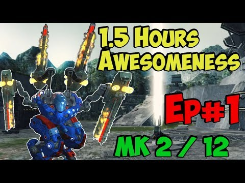 War Robots 1.5 Hours Awesome Mk2 Fun & Challenge Live Export Ep#1
