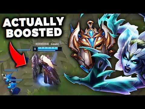 DAY 40 - ALMOST 1200 LP!! FINDING A REAL BOOSTED PLAYER IN CHALLENGER