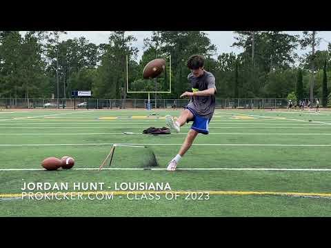 Jordan Hunt - Prokicker.com Kicker - Louisiana - Class of 2023