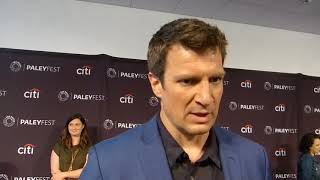 "Paley Center 2018 : ""The Rookie"" Nathan Fillion (Nolan)"