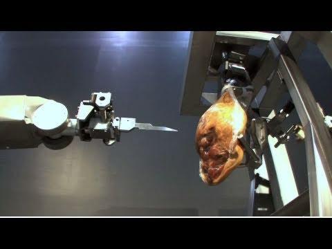 Ham De-Boning Robot Wields Knife To Become My New Fear