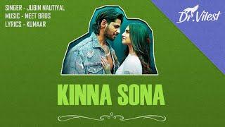 Kinna Sona Instrumental Marjaavaan Meet Bros Kumaar Jubin N Dhvani