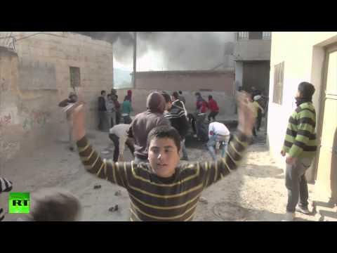 Decenas de heridos en enfrentamientos entre palestinos y el Ejército de Israel