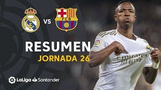 Resumen de Real Madrid vs FC Barcelona (2-0)