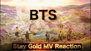 BTS (방탄소년단) 'Stay Gold' Official MV Reaction