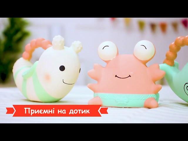 Каучуковый прорезыватель - УЛИТКА ПОЛЛИ