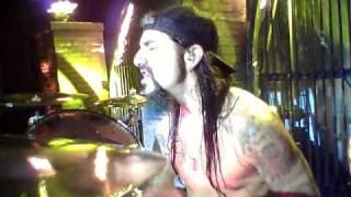 Mike Portnoy Drum Cam - Avenged Sevenfold - Almost Easy - Stockholm, Sweden 11/20/10.mov