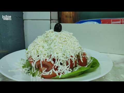 Šopska salata - pečena paprika i staroplaninski sir prave razliku