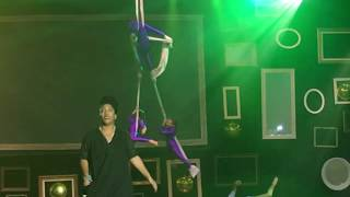 Aerial Fitness Students Perform for Charity Fashion Show in Las Vegas