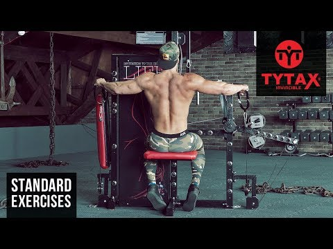 Cable Seated Lateral Raise | TYTAX® S6