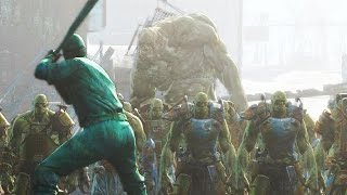 Battle of Diamond City! - Super Mutants Attack DC - Fallout 4 NPC War