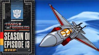 Fire in the Sky   Transformers: Generation 1   Season 1   E13   Hasbro Pulse