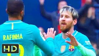 Barcelona vs Osasuna 3-0 - All Goals & Highlights HD - La Liga 10/12/2016
