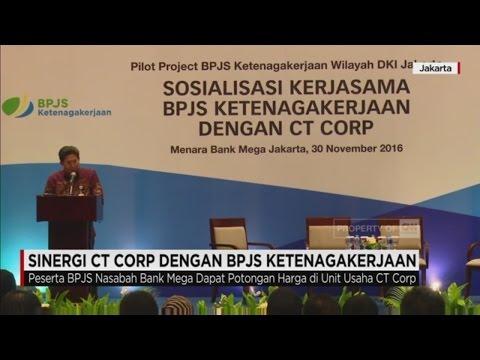 Sinergi CT Corp dengan BPJS Ketenagakerjaan
