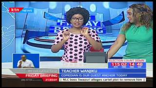 Teacher Wanjiku shares with Kenyans what she has been up to after life on Churchill Show