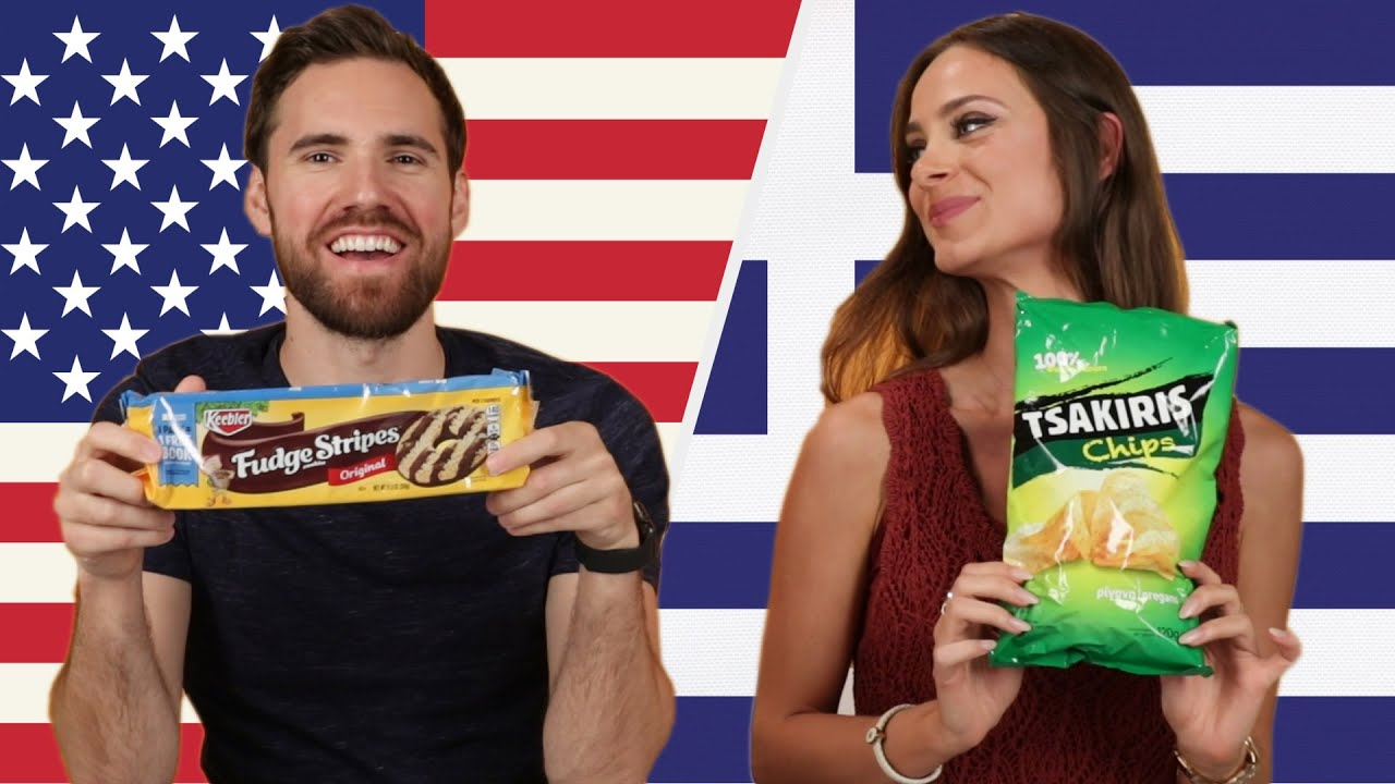 Americans and Greeks Swap Snacks thumbnail