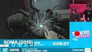 Soma by ZOM in 1:10:11 - Awesome Games Done Quick 2016 - Part 54