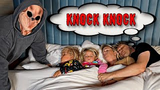 Knock Knock did this while we were sleeping..