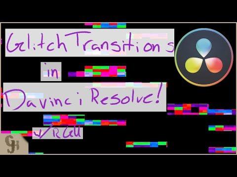 Glitch DaVinci Resolve Transitions Pack - смотреть онлайн на
