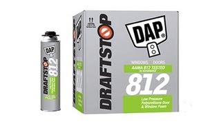 DRAFTSTOP 812 Door and Window Foam Sealant