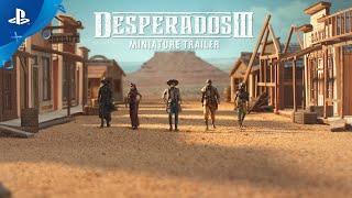 PlayStation Desperados III - Miniature Trailer anuncio
