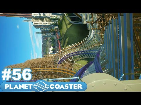Let's Build the Ultimate Theme Park! - Planet Coaster - Part 56 (3 NEW COASTERS including RMC)