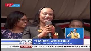 Wawakilishi wa Miss President wamekutana na rais Kenyatta huku wakipata nafasi ya kujieleza