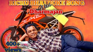 Darmajan and Sreenivasan in DUKE with richu bhai's remixed DUKE song richu bhai 007🔥