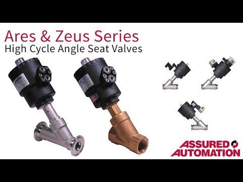 Angle Seat Valve Product Video Angle Valves