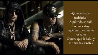 Chica Bombastic  Wisin Y Yandel   (Lyrics)
