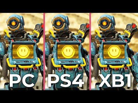 APEX Legends – PC vs. PS4 vs. Xbox One Graphics Comparison