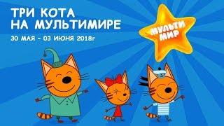 "Три кота на фестивале ""Мультимир"""