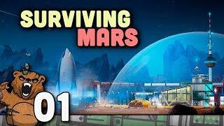 Cities Skylines em marte!   Surviving Mars #01 - Gameplay Português PT-BR