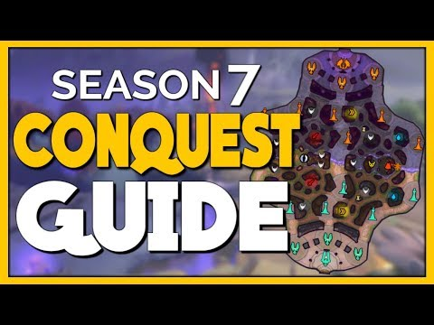 The No BS Guide to Conquest in SMITE Season 7! (видео)
