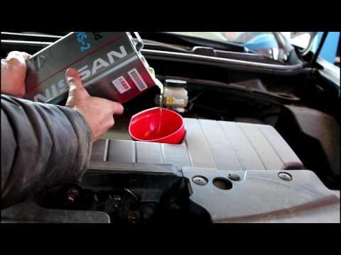 Фото к видео: Замена масла и фильтра в вариаторе. Nissan Murano Z51 Ниссан Мурано 2010 года