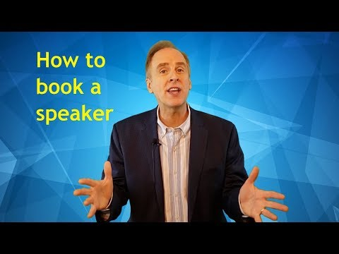 Seven things you need to know before booking a speaker