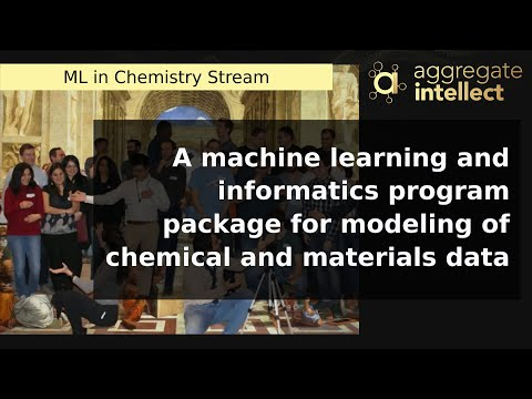 A machine learning and informatics program package for modeling of chemical and materials data