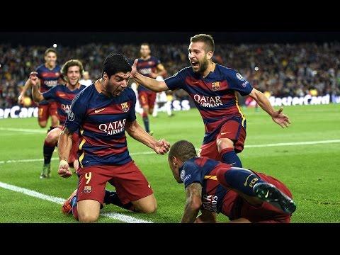 Neymar's Brilliant Goal Vs Villareal (08-11-2015)