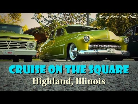 Cruise on the Square 2015 - Hot Rods, Muscle Cars, and Classics