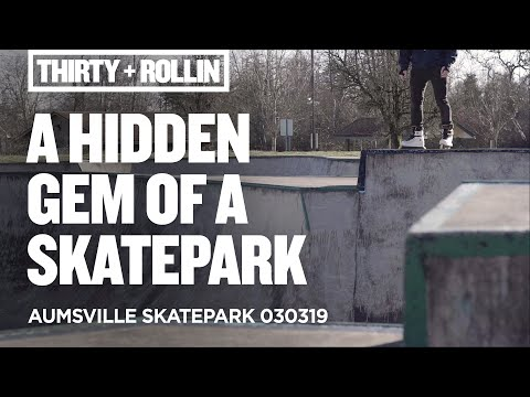 A hidden gem skatepark!   Aumsville Skatepark 030319   Aggressive Inline Skating