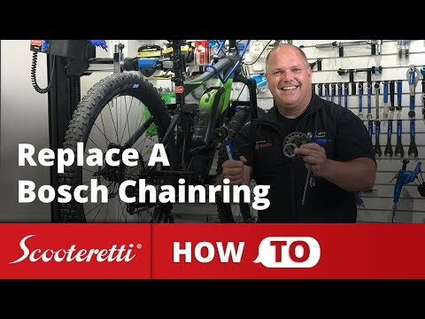 Bosch Chainring - How To Properly Change An Ebike Sprocket