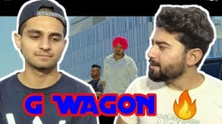 G Wagon ( Sidhu Moosewala) - REACTION !