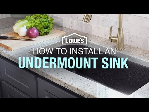 How To Replace and Install an Undermount Sink
