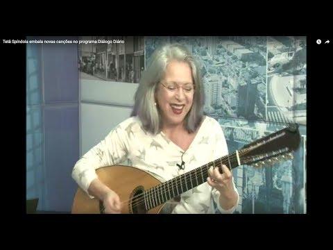 Tetê Spíndola embala novas canções no programa Diálogo Diário