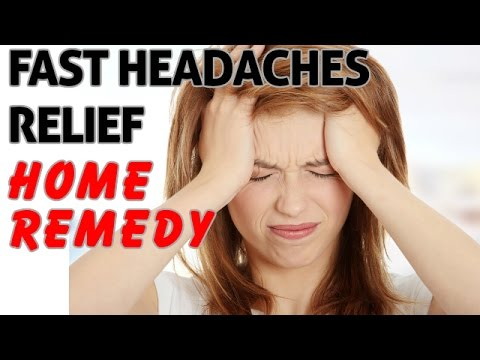 Video How to Cure a Headache Instantly ― Fast Headaches Relief Home Remedy